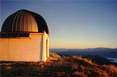 observatory dome of mont-chiran